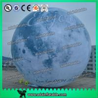 Wholesale 6m Giant Event Logo Advertising Inflatable Moon Customized Inflatable Planet Decoration from china suppliers