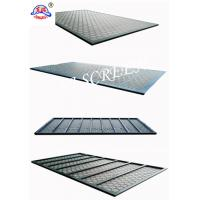 Buy cheap Metal Back Frame Shale Shaker Screen Swaco With Mongoose Steel Frame from wholesalers