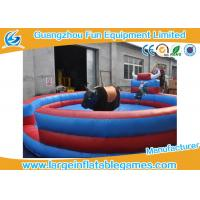 Wholesale Colorful 0.55mmPVC Mechanical Inflatable Bull Riding For Sport Games from china suppliers