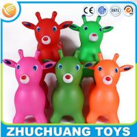 Wholesale wholesale color painting cartoon deer kids ride on animals from china suppliers