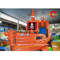 Wholesale Corsair HD Inkjet Map Slide PVC Inflatable Bounce House Commercial Jumping Castles from china suppliers