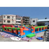China Big Bounce Kids And Adults Blow Up Theme Park For Indoor Inflatable Playground Fun on sale