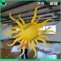 Wholesale Inflatable Sun For Event,Inflatable Sun Model,Yellow Inflatable Sun from china suppliers