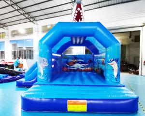 Wholesale Bouncy Castle Inflatablecastle Inflatable Bouncer Bounce House Combo from china suppliers