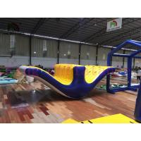 China 5m Long Huge Inflatable Water Toy / PVC Floating Totter Seesaw For Water Games on sale