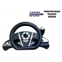 Quality 4 In 1 Video Game Steering Wheel Laptop / PS3 / Xbox 1 Steering Wheel for sale