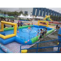China inflatable football field for sale,New design commercial arena football pitch,inflatable sports games on sale