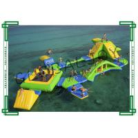 Wholesale Eco Friendly Inflatable Water Parks Double Stitch For Thirty Five People from china suppliers