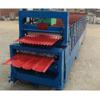 Wholesale Automatic Corrugated Double Layer Roll Forming Machine With Manual Decoiler from china suppliers