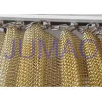Wholesale Customized Size Metal Mesh Curtains High Strength Interior Partition Solutions from china suppliers