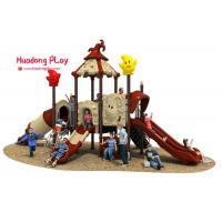 China Magic House Series Slide Play Equipment Small Size Fashion Cute Design High Reliability on sale