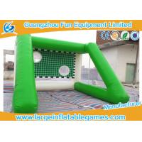 Wholesale Outside Inflatable Field Goal Post For Soccer Ball 4 * 4 *3 M Excellent Durability from china suppliers