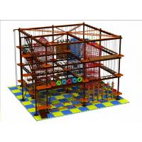 Wholesale Naughty Castle Climbing Wall Adult/Children Rope Course Outdoor/Indoor Playground from china suppliers