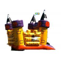 China Halloween Inflatable Jumping Castle Waterproof Lead Free High Performance on sale