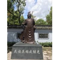 Wholesale High Lifelike General Hero Statue Antique Bronze Statues For Yard Decoration from china suppliers