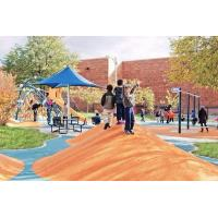 Wholesale OEM / ODM Children'S Play Area Rubber Chippings Water Permeable Noise Reduction from china suppliers