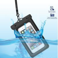 Wholesale Eco-Friendly  Floating Waterproof Phone Case TPU Waterproof Dry Pouch with Air-Filled Frame Function from china suppliers
