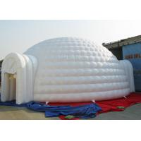 Wholesale 10 M Sewing Inflatable Igloo Marquee 3 - 8 Minutes To Finish Inflating from china suppliers