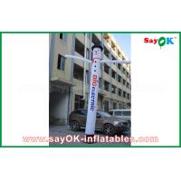 Wholesale White Inflatable Air Dancer With Log Print 4m/5M/6m High With Light For Advertising from china suppliers