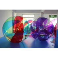 Wholesale Transparent Full Colored Inflatable Water Walking Ball For Water Park / Party from china suppliers