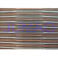 Wholesale Copper And Silver Color Metal Glass Laminated Glass Mesh Fabric from china suppliers