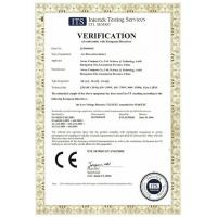 Guangzhou Chao Yue Inflatables Co.,Ltd Certifications