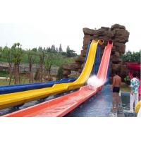Swimming Pool Fiberglass Water Park Slide For Adult High Safety