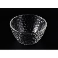 Wholesale Wide Mouth Glass Candle Bowl , Clear Galss Candle Container from china suppliers