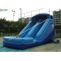 Wholesale 17 Feet Blue Large Commercial Inflatable Water Slides For Kids Party from china suppliers