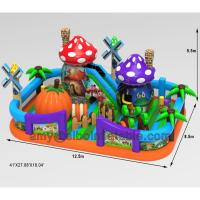 Wholesale Biggest  Funny Inflatable Bouncer Combo Popular In Kids Entertainment Park Inflatable Fun City from china suppliers