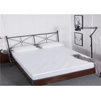 Buy cheap Elastic Polyester Round Stripe Line Hotel Mattress Protector / King Size from wholesalers