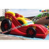 Wholesale Durable PVC Inflatable Car Dry Slides Toys Commercial Inflatable Slide from china suppliers