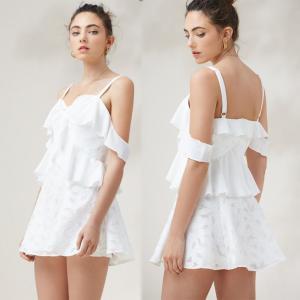 Quality Hot Sale Fashion Womens Floral Sex Linen Slip Mini Dress for sale