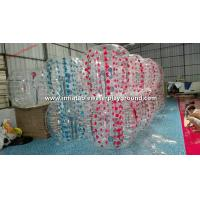 Wholesale Amazing TPU Inflatable Bubble Ball Football Equipment For Backyard Sports Fun from china suppliers