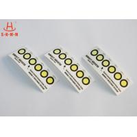 Wholesale Cobalt Free 6 Dots Colour Change PCB Moisture Indicator Paper Card RoHS from china suppliers