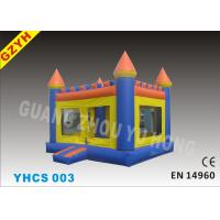 Wholesale Commercial Airflow Inflatable Bouncy Castle YHCS 003 with 0.55mm PVC Tarpaulin from china suppliers