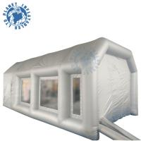 Wholesale 7 M Grey Inflatable Spray Booth Water Resistance With Storage Bag from china suppliers
