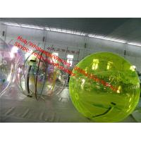 China smash water ball giant ball inflatable water water tank float ball valve on sale