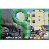 Wholesale Green Oxford Cloth Inflatable Cartoon Characters /  Inflatable Caterpillar from china suppliers