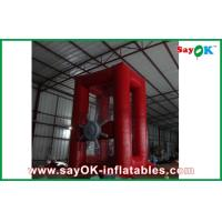 Wholesale Red 0.44mmPVC Inflatable Money Machine For Rental Business from china suppliers