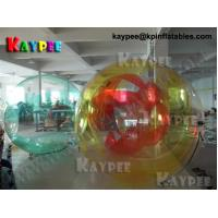 Wholesale Colour water ball,TIZIP zipper inflatable ball, water game Aqua fun park water zone KWB001 from china suppliers