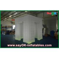 China 2 Doors Party Inflatable Photo Booth Rental With Led Lighting on sale