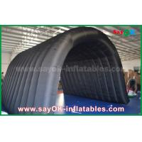 China Black 210D Oxford Tunnel Inflatable Camping Tent for Outdoor Activity on sale