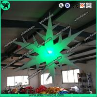 Wholesale Inflatable Snowflake With LED Light,Lighting Inflatable Snow Flower from china suppliers
