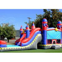 Commercial  Inflatable Obstacle Course Race Inflatable Moonwalk Jumping Castle