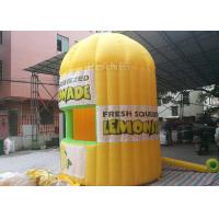 Quality Lightweight Inflatable Lemonade Stand One Door And One Window Long Life Span for sale