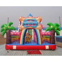 New arrival Commercial rental octopus design inflatable bouncer slide for sale