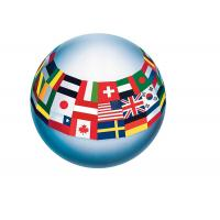 Buy cheap PVC Custom Inflatable Full Printed Bouncy Beach Toy Balls For Kids from wholesalers