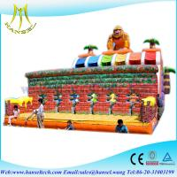 Wholesale Hansel Combinated Indoor Inflatable ball pitching machine for amusement park from china suppliers