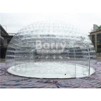 China Transparent Inflatable Bubble Tent , Outdoor Camping Air Tent With PVC Tarpaulin on sale